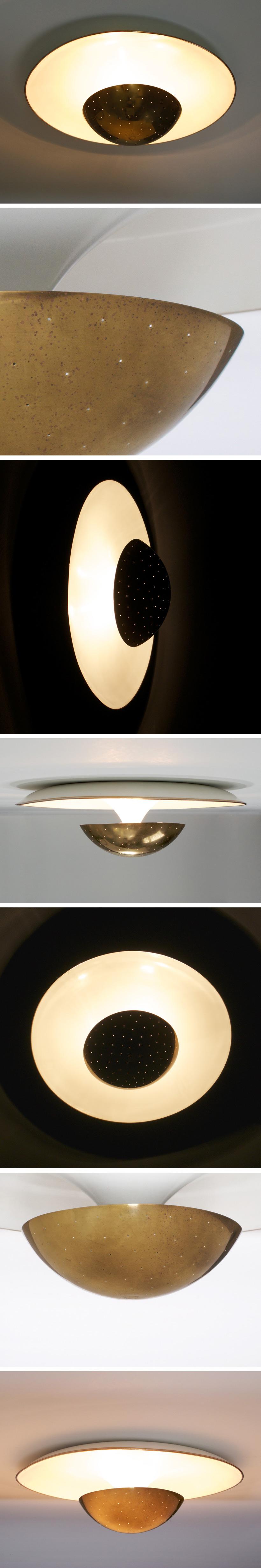 Gino Sarfatti Arteluce ceiling lamp Large