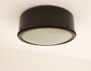 Gino Sarfatti Arteluce metal ceiling light