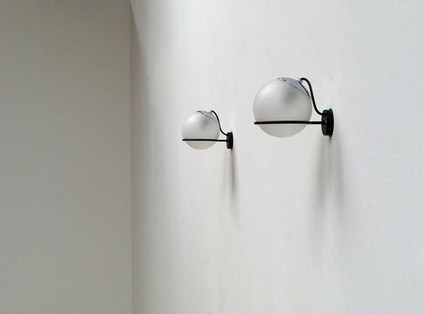 Gino Sarfatti Arteluce pair of wall sconces