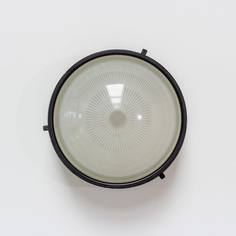 Gino Sarfatti Arteluce yellow and black ceiling light 3027 p img 3