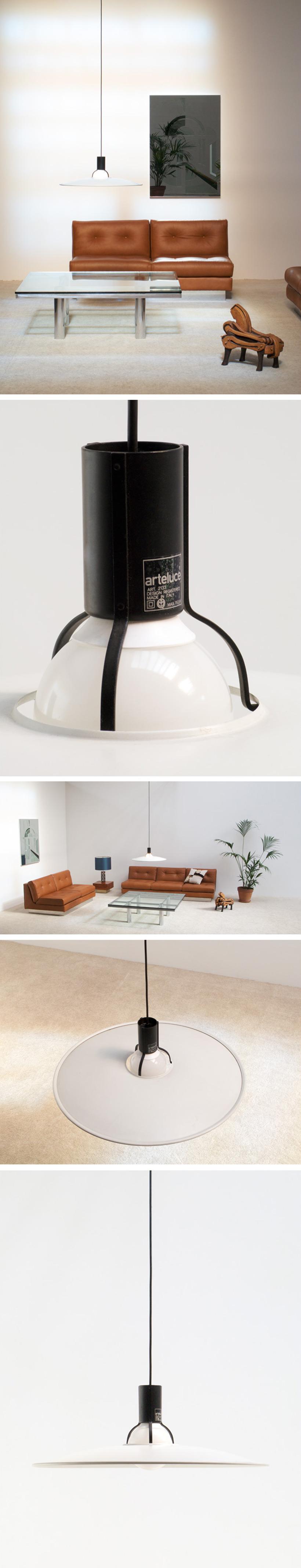 Gino Sarfatti Ceiling lamp 2133 Arteluce 1976 Large