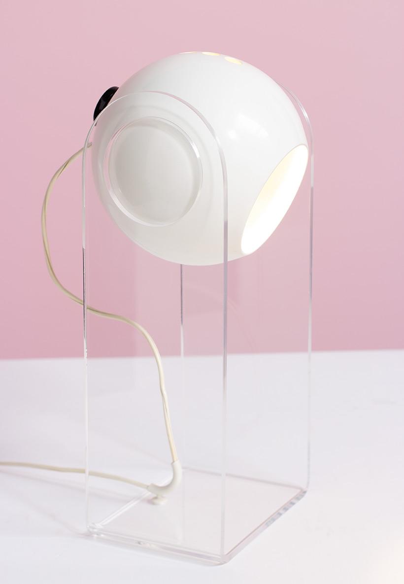 Gino Sarfatti table lamp model 540 g for Arteluce