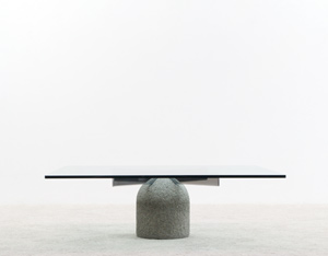 Giovanni Offredi Coffee table Paracarro for Saporiti