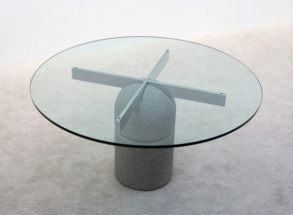 Giovanni Offredi Dinning table Paracarro for Saporiti