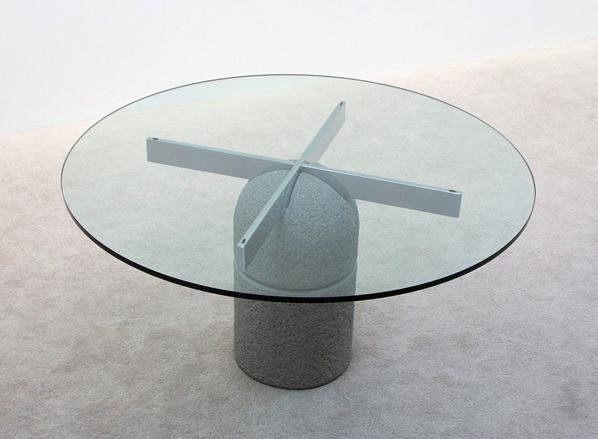 Giovanni Offredi Dinning table Paracarro for Saporiti