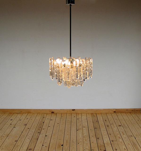 Glass chandelier Kalmar Austria