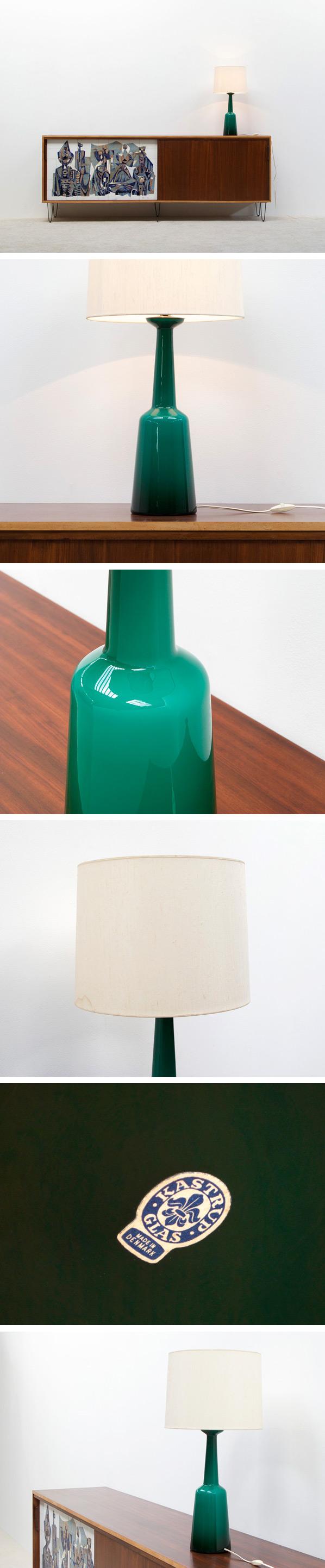 Glass table lamp Kastrup Holmegaard Large