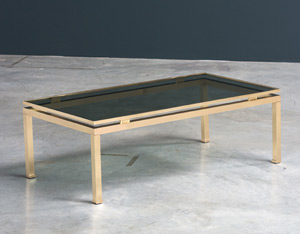 Guy Lefevre coffee table Maison Jansen 1970