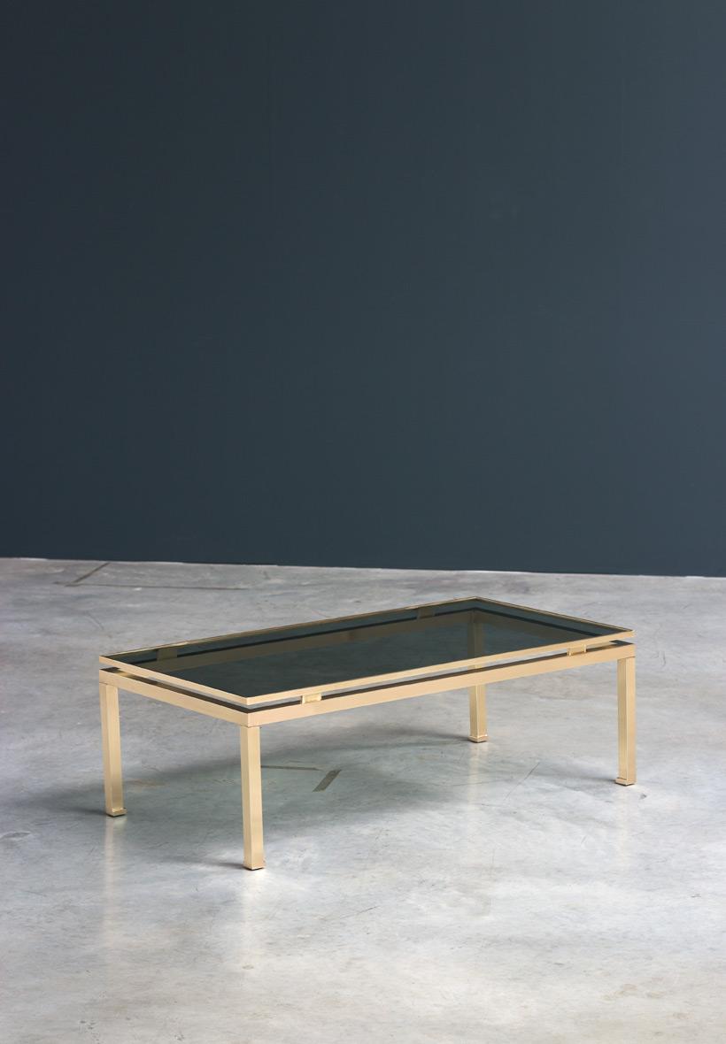 Guy Lefevre coffee table Maison Jansen 1970