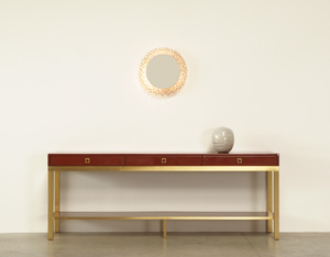 Guy Lefevre lacquered wooden Console