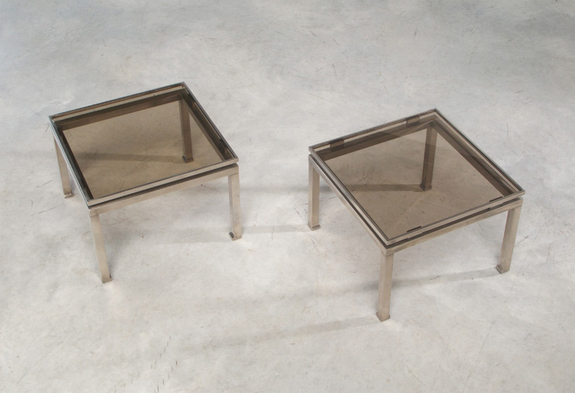 Guy Lefevre pair of side tables Maison Jansen 1970 img 4