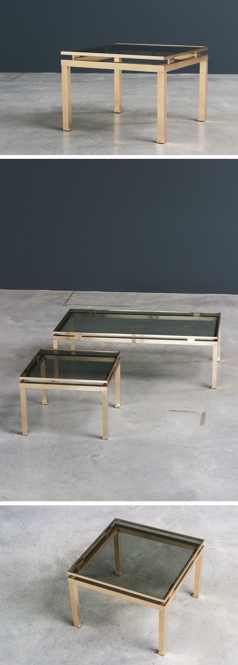 Guy Lefevre side table Maison Jansen 1970 Large