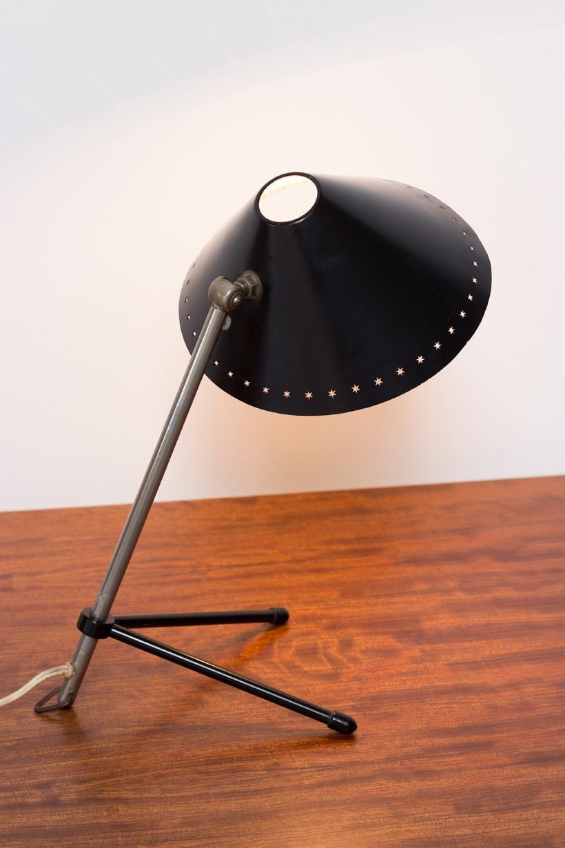 H Busquet black Pinocchio lamp