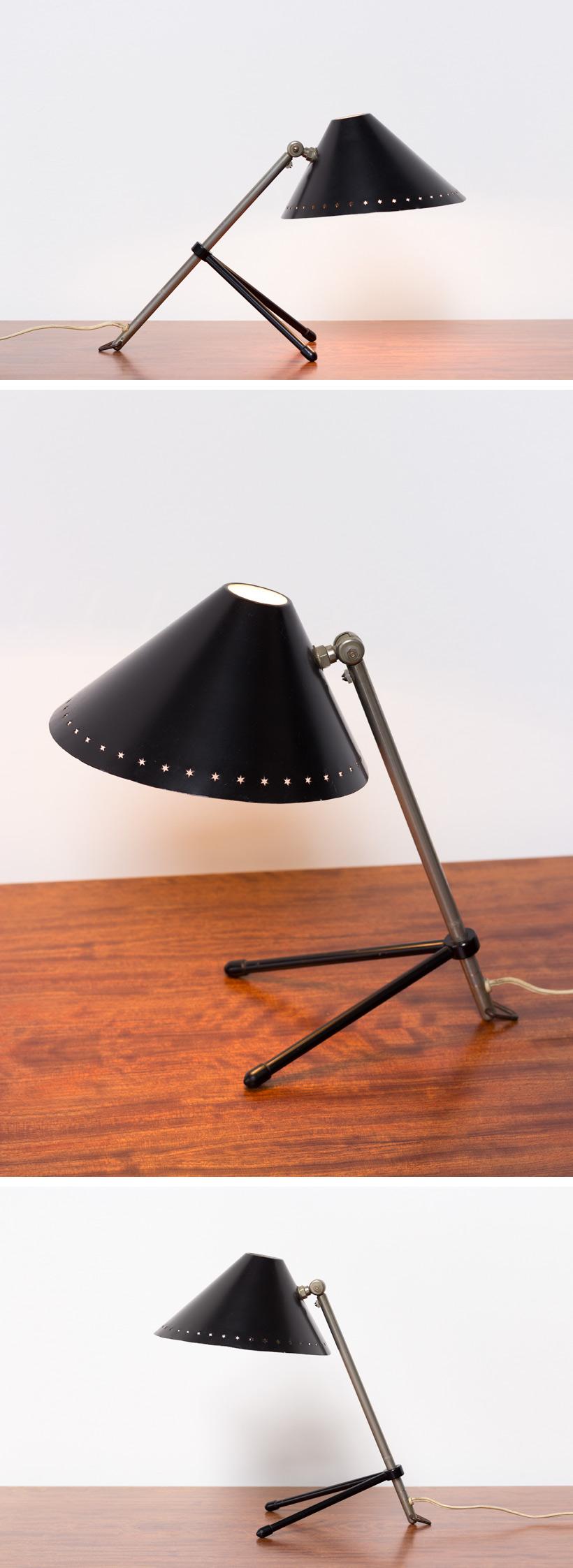 H Busquet black Pinocchio lamp Large