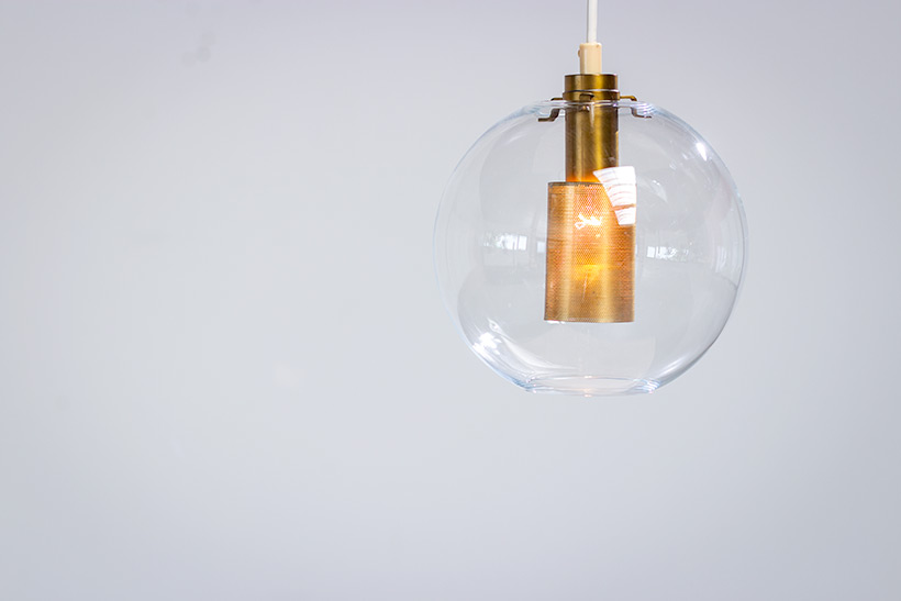 Hans Agne Jakobsson ceiling light T 269 clear glass pendants AB Markaryd img 5