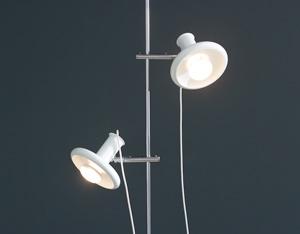 Hans Due floor lamp reading lamp Optima 4 Fog and Murop 1972