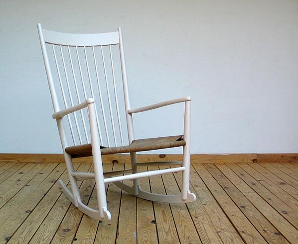 Hans J. Wegner Rocking Chair FDB Mobler