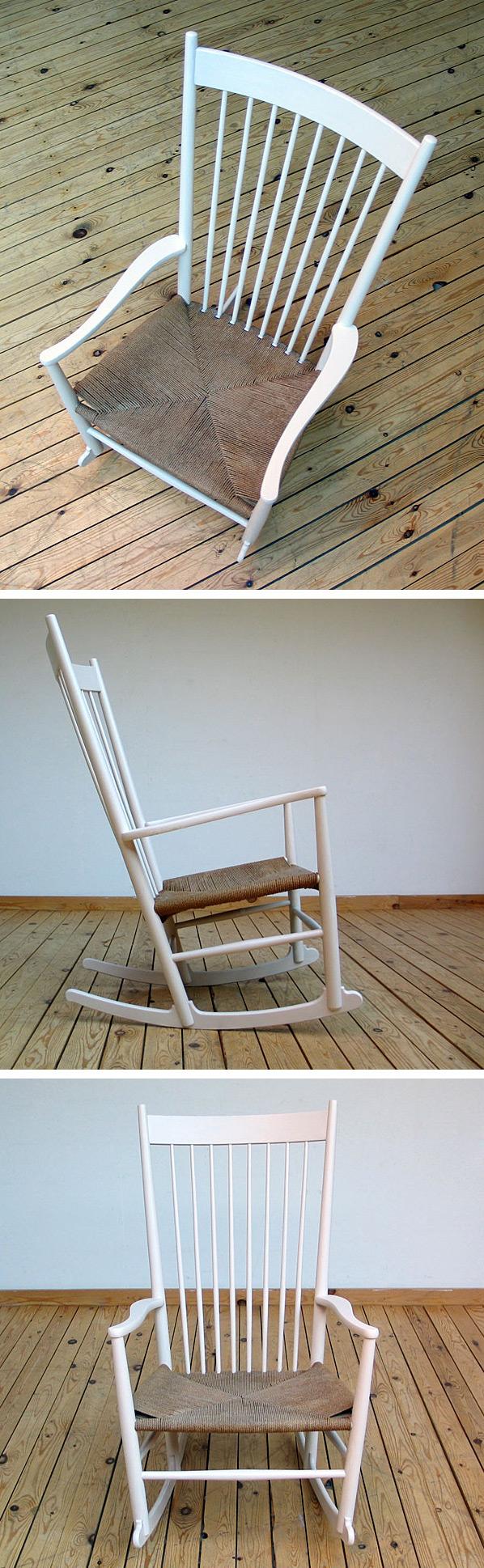 Hans J. Wegner Rocking Chair FDB Mobler Large