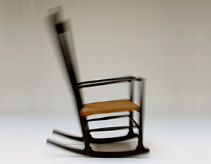 Hans J. Wegner Rocking Chair J16 FDB Mobler