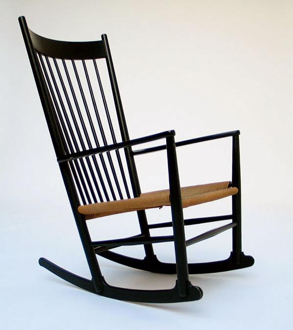 Hans J. Wegner Rocking Chair J16 FDB Mobler