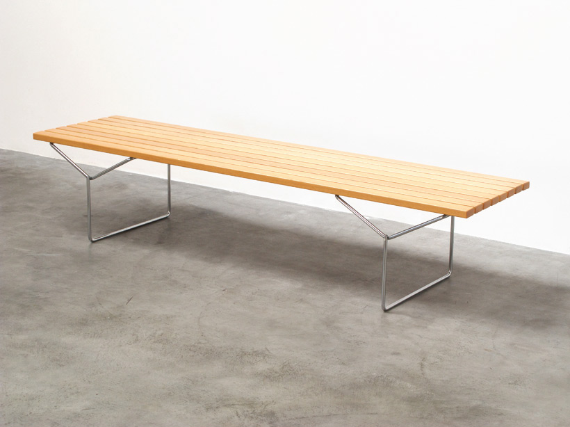 Harry Bertoia slat Bench Knoll International
