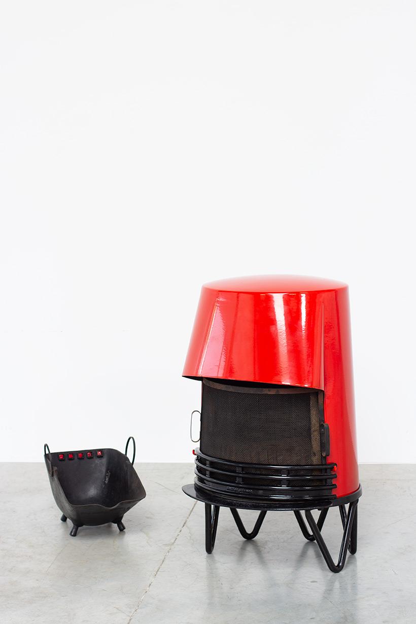 Hoff & Windinge Tasso wood stove fireplace Denmark