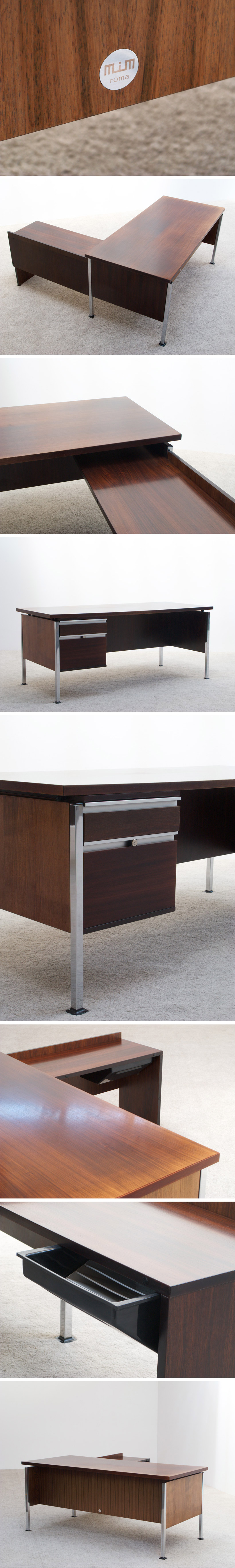 Ico and Luisa Parisi executive desk for MIM Large