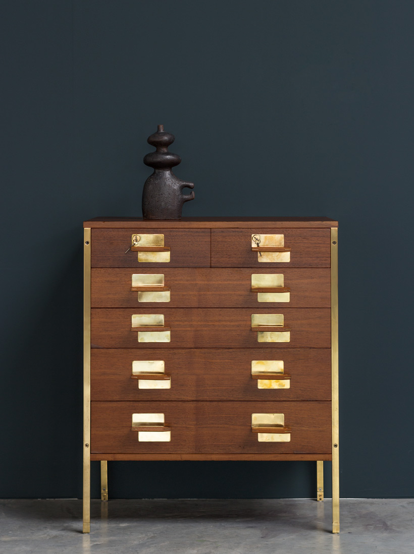 Ico Parisi chest with drawers from the Positano series MIM Roma