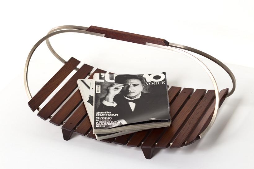 Ico Parisi magazine holder for stildomus