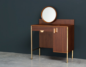 Ico Parisi Make Up table from the Positano series MIM Roma