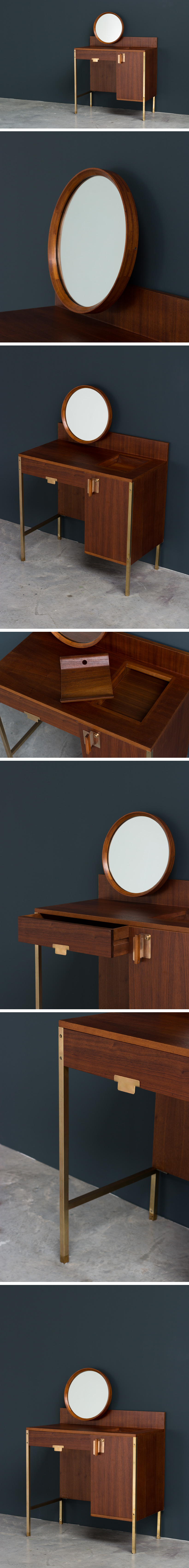 Ico Parisi Make Up table from the Positano series MIM Roma Large