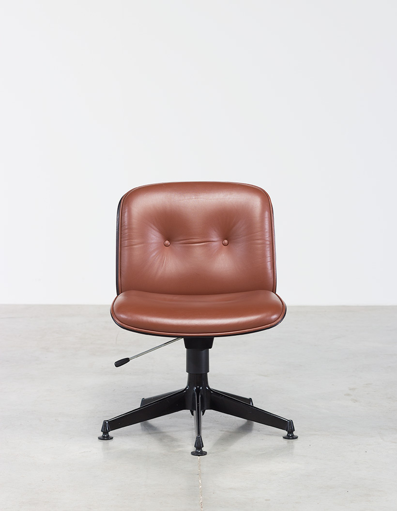 Ico Parisi Rosewood Desk chair for Mobili Italiani Moderni