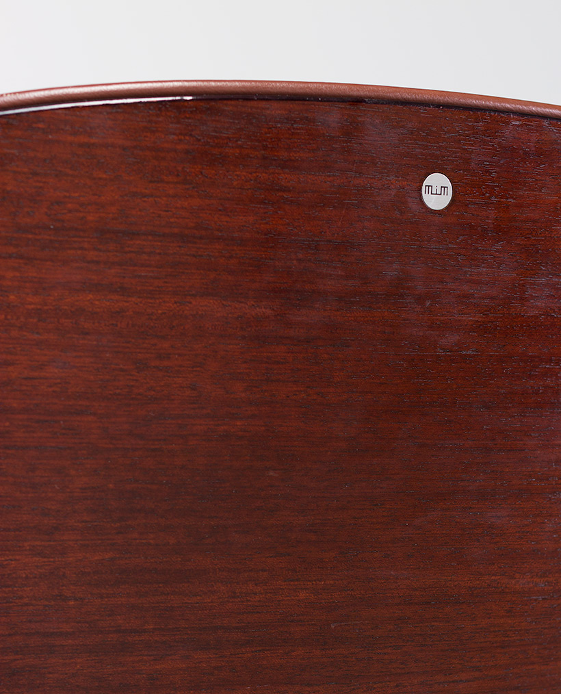 Ico Parisi Rosewood Desk chair for Mobili Italiani Moderni img 7