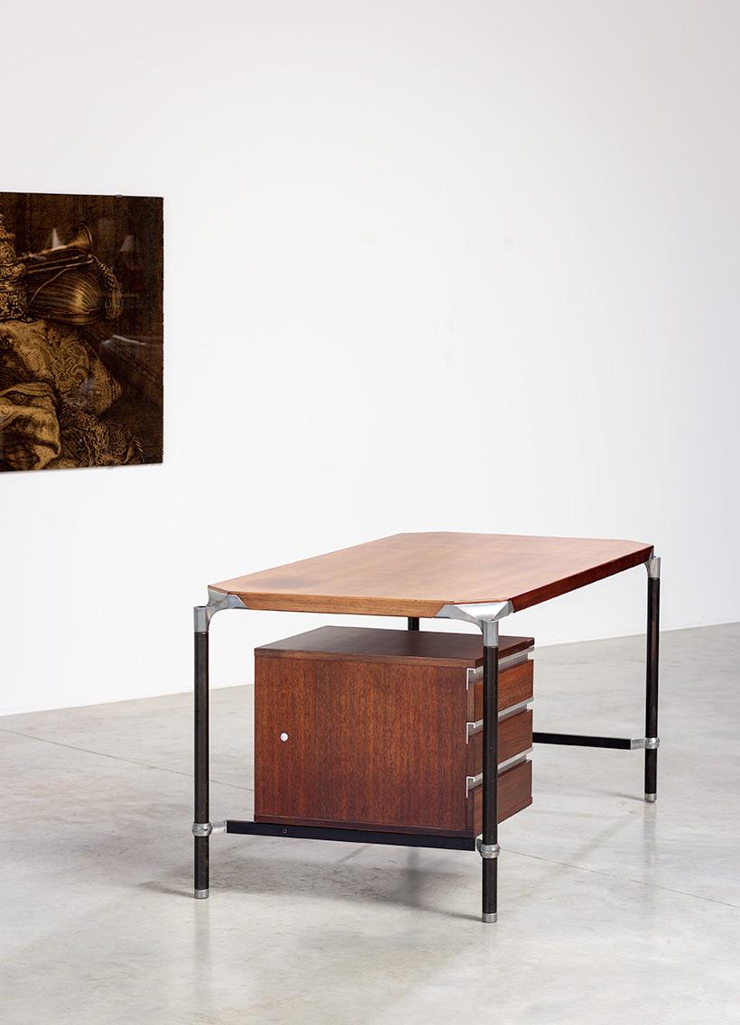 Ico Parisi rosewood lady desk for MIM 1960