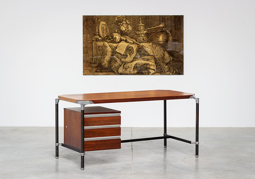 Ico Parisi rosewood lady desk for MIM 1960 img 3