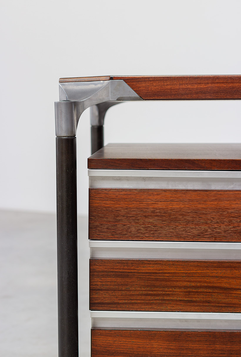 Ico Parisi rosewood lady desk for MIM 1960 img 5