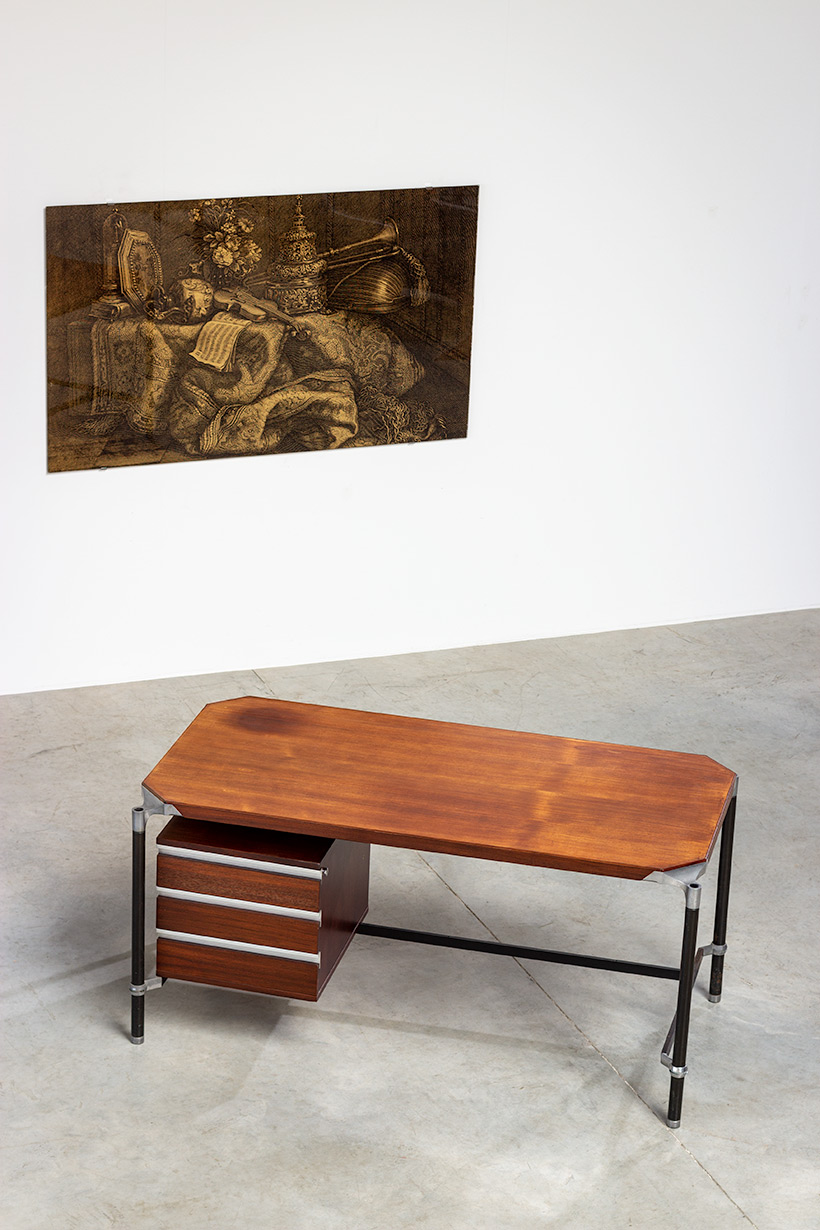 Ico Parisi rosewood lady desk for MIM 1960 img 6