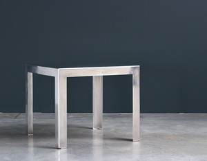 Industrial aluminum table build on request