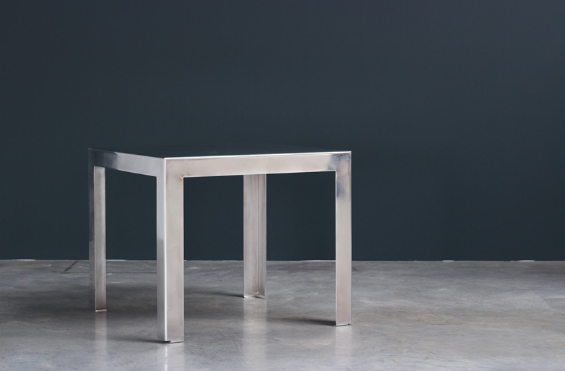 Industrial aluminum table build on request Large
