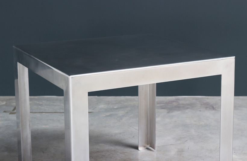 Industrial aluminum table build on request img 4