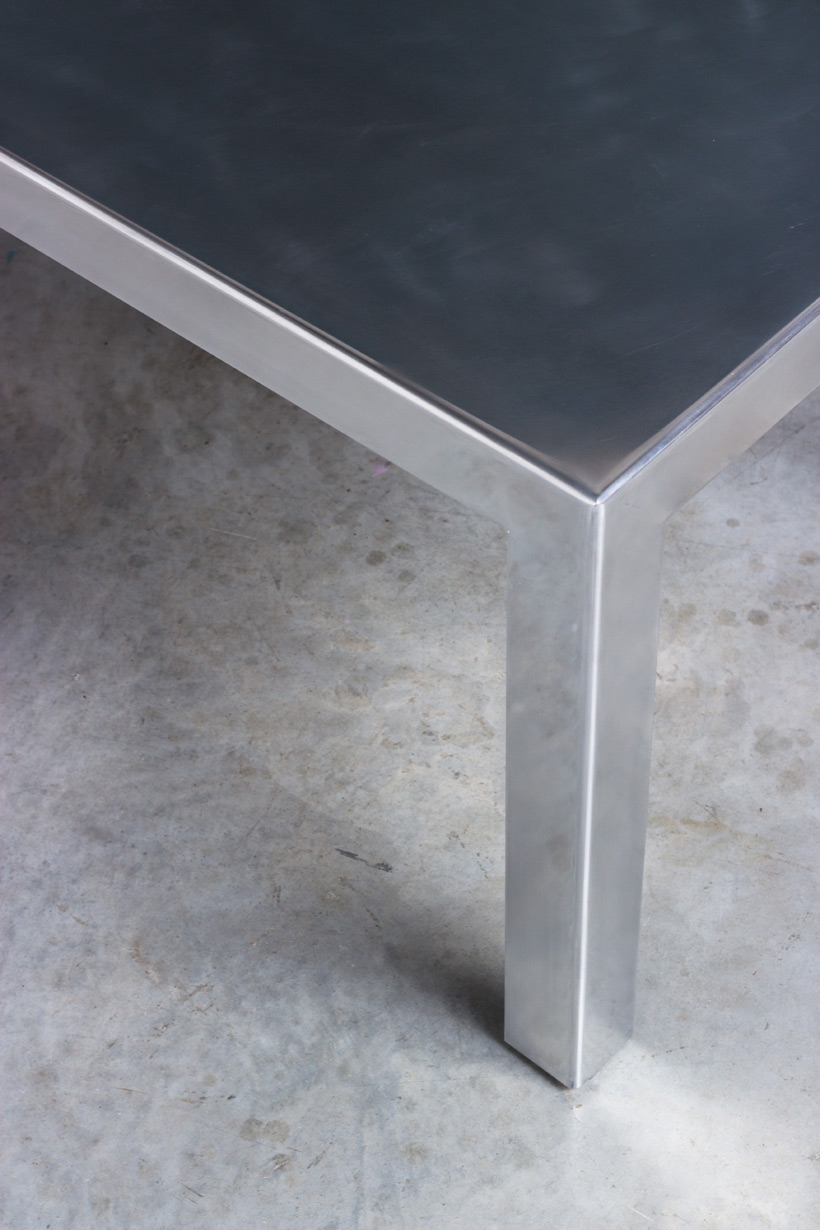 Industrial aluminum table build on request img 5