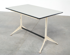 Industrial Cafeteria or dinning table 1960