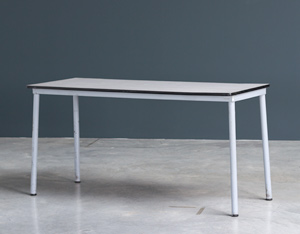 Industrial cafeteria or kitchen table Tubax Belgium 1950
