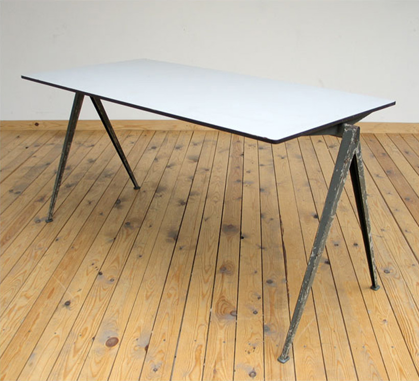 Célèbre Industrial Compass table Wim Rietveld | furniture-love.com XE07