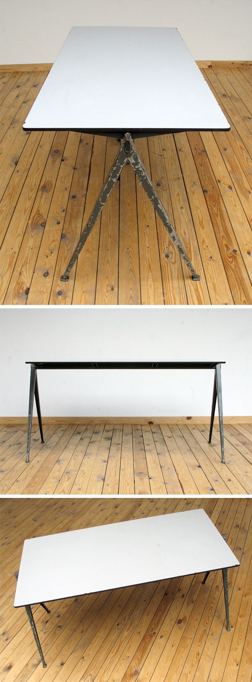 Industrial Compass table Wim Rietveld Large