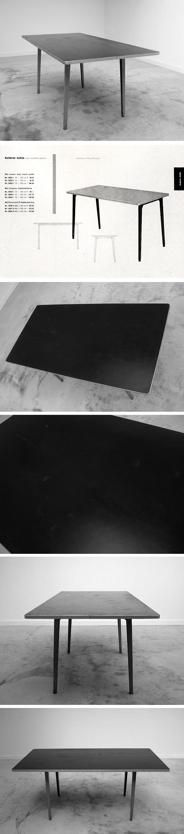 Industrial design Friso Kramer Reform table 1955 Large