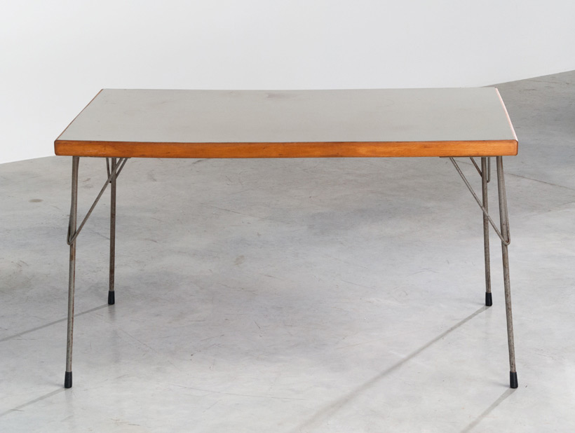 Industrial dinning table Wim Rietveld Gispen img 7