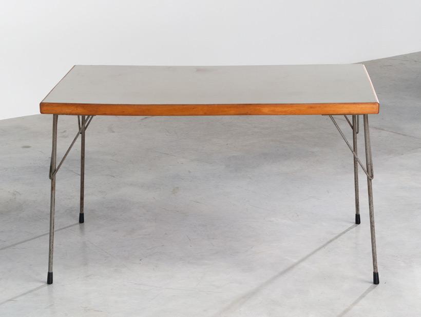 Industrial dinning table Wim Rietveld Gispen img 7