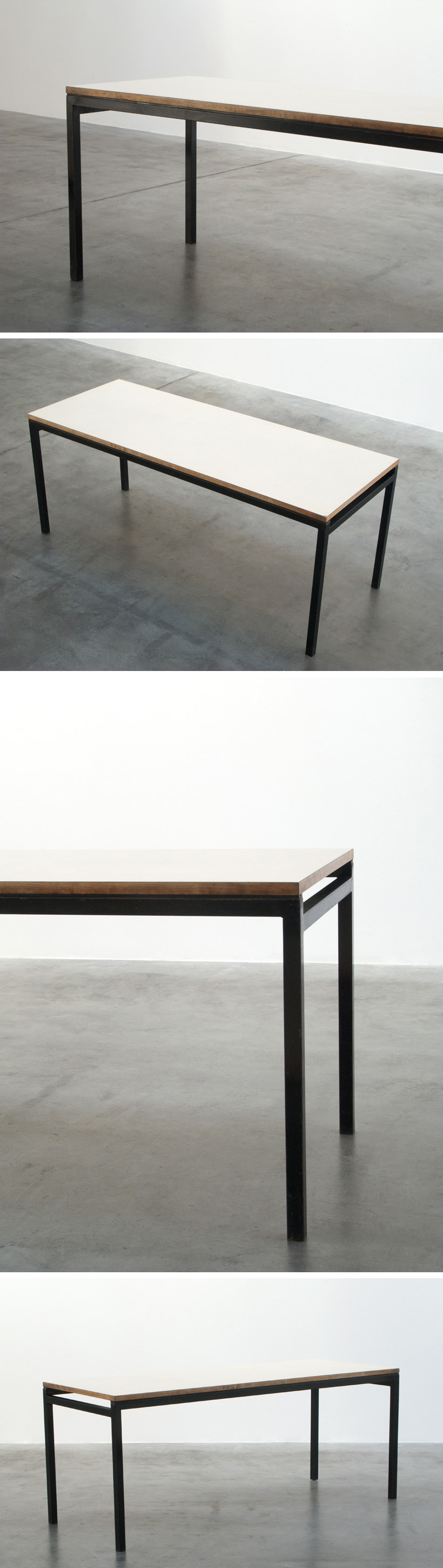 Industrial dinning table Large