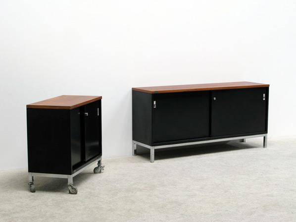 Industrial metal office sideboards